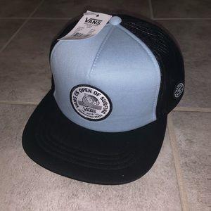 NEW Mens Vans 2019 US Open Of Surfing Blue Hat Cap